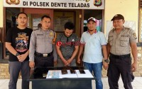 Ancam Tembak Korban, Pelaku Pencurian di Denteteladas Ditangkap Polisi