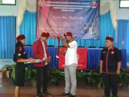 Andreas Gita Lazuardi Resmi Nahkodai PMKRI Cabang Bandar Lampung
