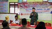 Anggota Dewan Lamsel Reses di Desa Pematang