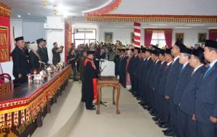 Anggota DPRD Lamsel Didominasi Wajah Baru