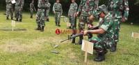 Anggota Kodim 0426 Asah Kemampuan Menembak