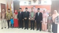 Anggota Komisioner KPU Kabupaten PAW Di Kukuhkan