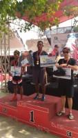 Anggota Marinir Lampung Berjaya di Jepara International Triathlon