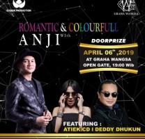 Anji, Atiek CB dan Deddy Dhukun Sapa Warga Lampung