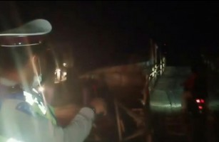 Antisipasi Pungli, Kapolres Tempatkan Personel di Jembatan Mesuji