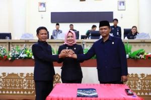 APBD-P 2019 Tulangbawang Disahkan, Winarti Apresiasi Dewan
