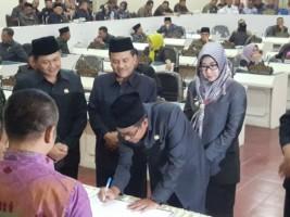 APBD Tanggamus TA 2019 Disahkan
