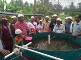 APCI Lampung Beri Pelatihan Budidaya Ikan Tawar Metode Bioflok