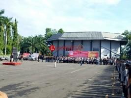 Apel Akbar Pilkada di Lampura Digelar di Stadion Sukung Kotabumi