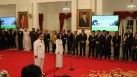 Arinal-Nunik Resmi Jabat Gubernur dan Wagub Lampung
