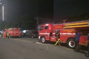 Armada Pemadam Kebakaran Dikerahkan Bantu TNI/Polri