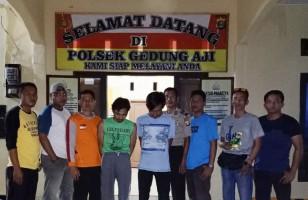 Asik Isap Sabu, Dua Orang Diamankan Polsek Gedungaji