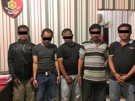 Asik Judi Remi, 5 Warga Baradatu Ditangkap Polisi