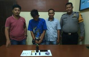 Asik Pesta Sabu, Satu Pemuda Ditangkap Dua Lolos