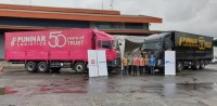 Astra UD Trucks-Puninar Logistics Lakukan Serah Terima 22 unit Quester CQE280