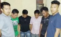 Asyik Pesta Sabu, Empat Warga Batuputih Ditangkap Petugas
