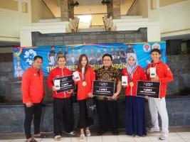 Atlet Pencak Silat Peraih Medali Emas di Asian Games 2018 Dapat Luna V Series