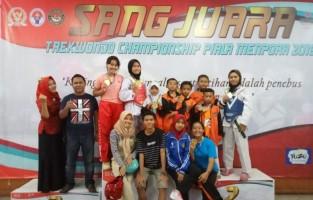Atlet Taekwondo Sumja Swadipha Boyong 6 Medali Emas dan 5 Perak