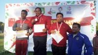 Atlet Tulangbawang Raih Prestasi di Kejurnas Atletik Master