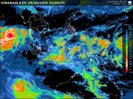 Awal Mei, Sore dan Malam Wilayah Lampung Berpotensi Hujan