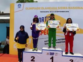 Azzura Kayla Pasha Kembali Sumbang Medali Perak di O2SN