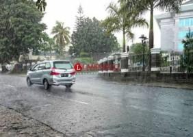 Bandar Lampung Diguyur Hujan
