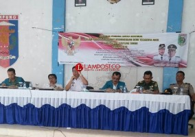 Badan Kesbangpol Lamtim Gelar Seminar Pemuda Lintas Sektoral