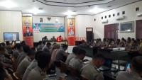 Baharkam Polri Sosialisasi dan Bintek Aplikasi BOS di Polres Lampura