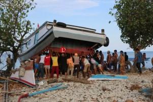 Bahas Relokasi Pengungsi, Pemkab Lamsel Temui Pemilik Lahan Pulausebesi