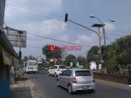Bahaya, Traffic Light di Tugu Alamsyah Ratu Perwira Negara Padam