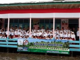 Bakamla RI dan Aktivis Prahu Pustaka Gelar Edukasi Maritim di Jambi