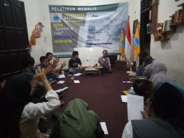 Bangun Literasi Digital, PMII Syariah Gelar Pelatihan Menulis