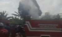 Bangunan Bekas yang Ditempati 1 kepala Keluarga Ludes Terbakar