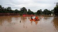 Banjir Rendam Ratusan Hektare Sawah dan Rumah di Way Kanan