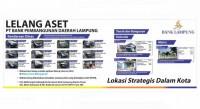 Bank Lampung Lelang Aset Senilai Rp3,85 Miliar