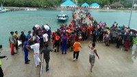 Bantu Evakuasi 991 penduduk Pulau Sebesi, ASDP Kirim KMP Jatra III