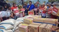 Bantuan Dompet Kemanusiaan Media Group ke Lombok Berlanjut