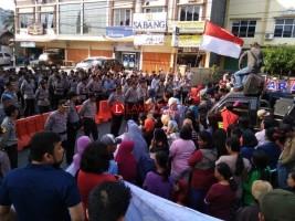 Barisan Rakyat Peduli Lampung Gelar Aksi Damai Sikapi Pilkada Lampung