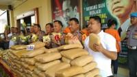 Bawa 295 Kg Ganja, Warga Aceh dan Sumut Dijanjikan Upah Rp100 Juta