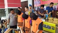 Remaja Pembawa 34 Kg Ganja Diciduk di Pelabuhan Bakauheni