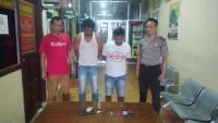 Bawa Narkotika, Dua Orang Buruh Ditangkap Aparat Polsek Rawa Pitu
