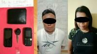 Bawa Sabu, Dua Sejoli Ini Ditangkap Anggota Polres Metro