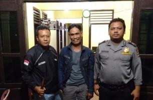 Bawa Senjata Tajam,  Amhar Diamankan Petugas Patroli
