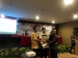 Bawaslu Bandar Lampung Raih Penghargaan Peserta Terbaik ToT