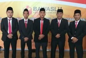 Bawaslu Kabupaten Pesawaran Telah Dilantik di Jakarta