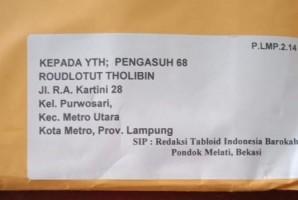 Bawaslu Soroti Paket Tabloid Indonesia Barokah oleh Jasa Ekspedisi