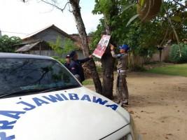 Bawaslu Tubaba Tertibkan APK di 9 Kecamatan