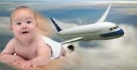 Bayi Lahir Dalam Pesawat