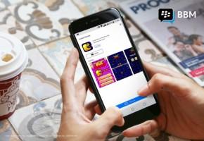 BBM Hadirkan Instant Games Buat Pengguna di Indonesia