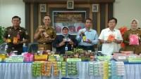 BBPOM Lampung Rilis Temuan Kasus Obatdan Makanan Tak Layak Edar Menurun